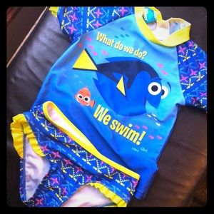 Finding Dory 3t two piece swim suit